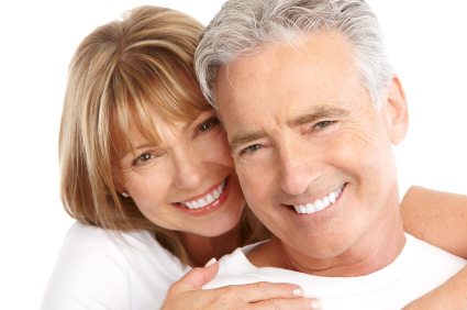 Happy couple thanks to D. Ian Bell, DDS - Dentist Bellevue, WA